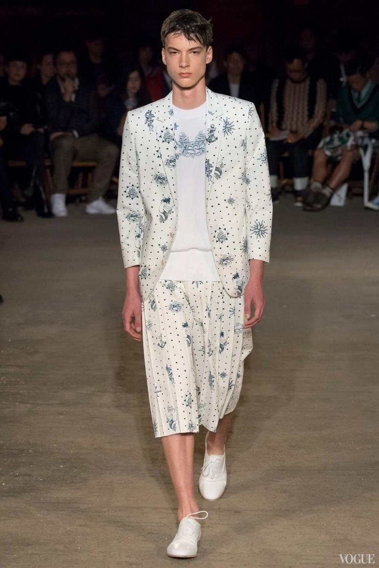 Alexander McQueen Menswear весна-лето 2016 #31