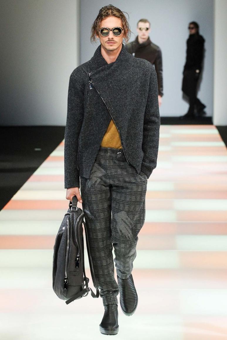 Emporio Armani Menswear осень-зима 2015/2016 #44