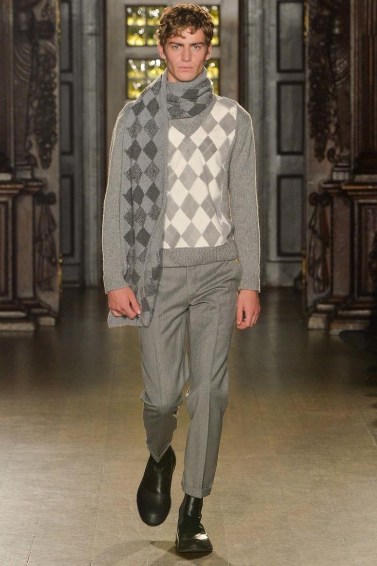 Pringle of Scotland Menswear осень-зима 2015/2016 #20