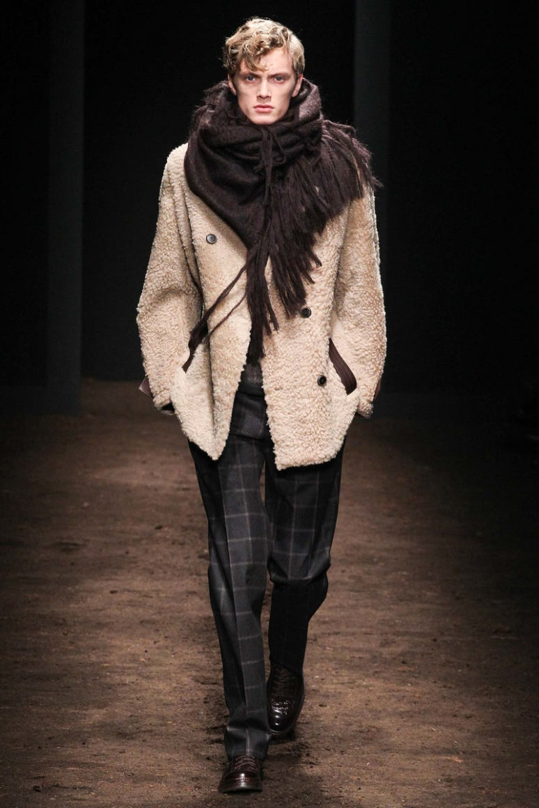 Salvatore Ferragamo Menswear осень-зима 2015/2016 #15