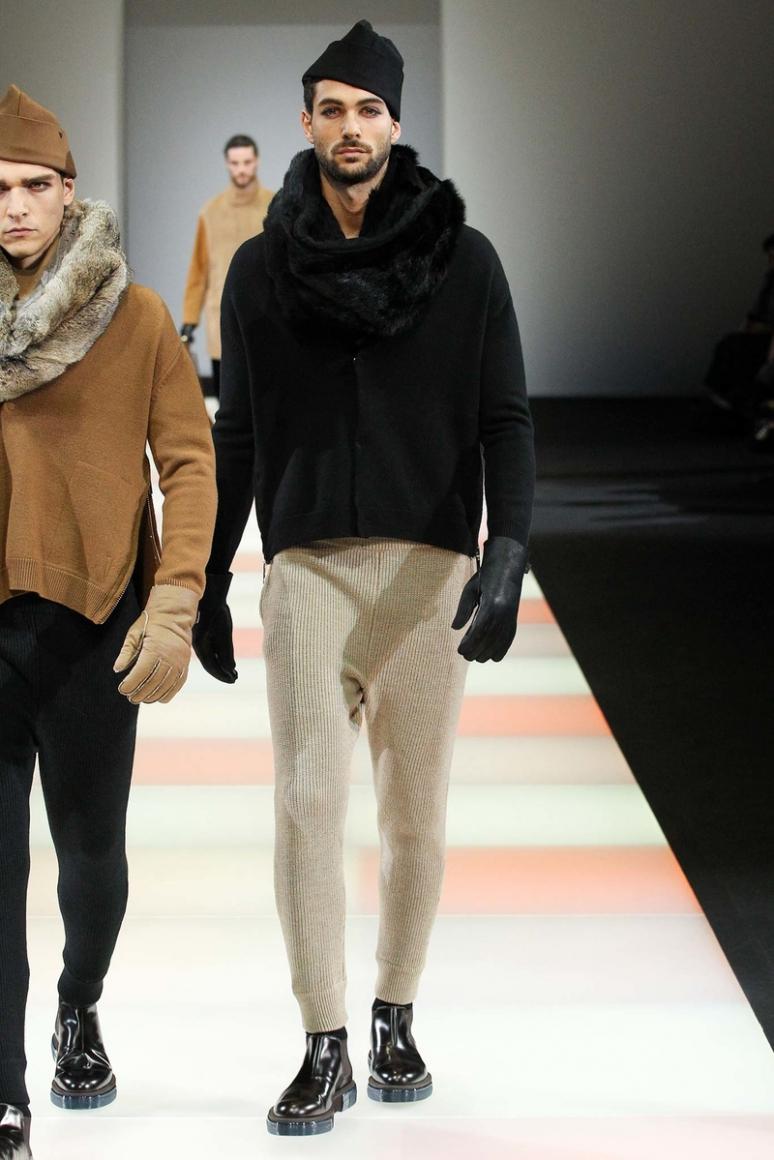 Emporio Armani Menswear осень-зима 2015/2016 #55