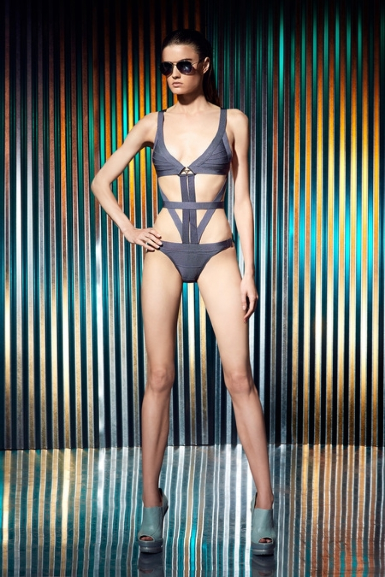 Herve Leger by Max Azria Resort 2014 #31