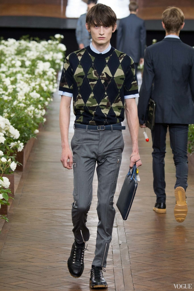 Dior Homme Menswear весна-лето 2016 #39