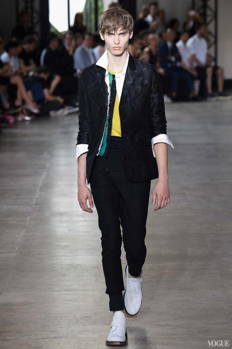 Ann Demeulemeester Menswear весна-лето 2016 #28