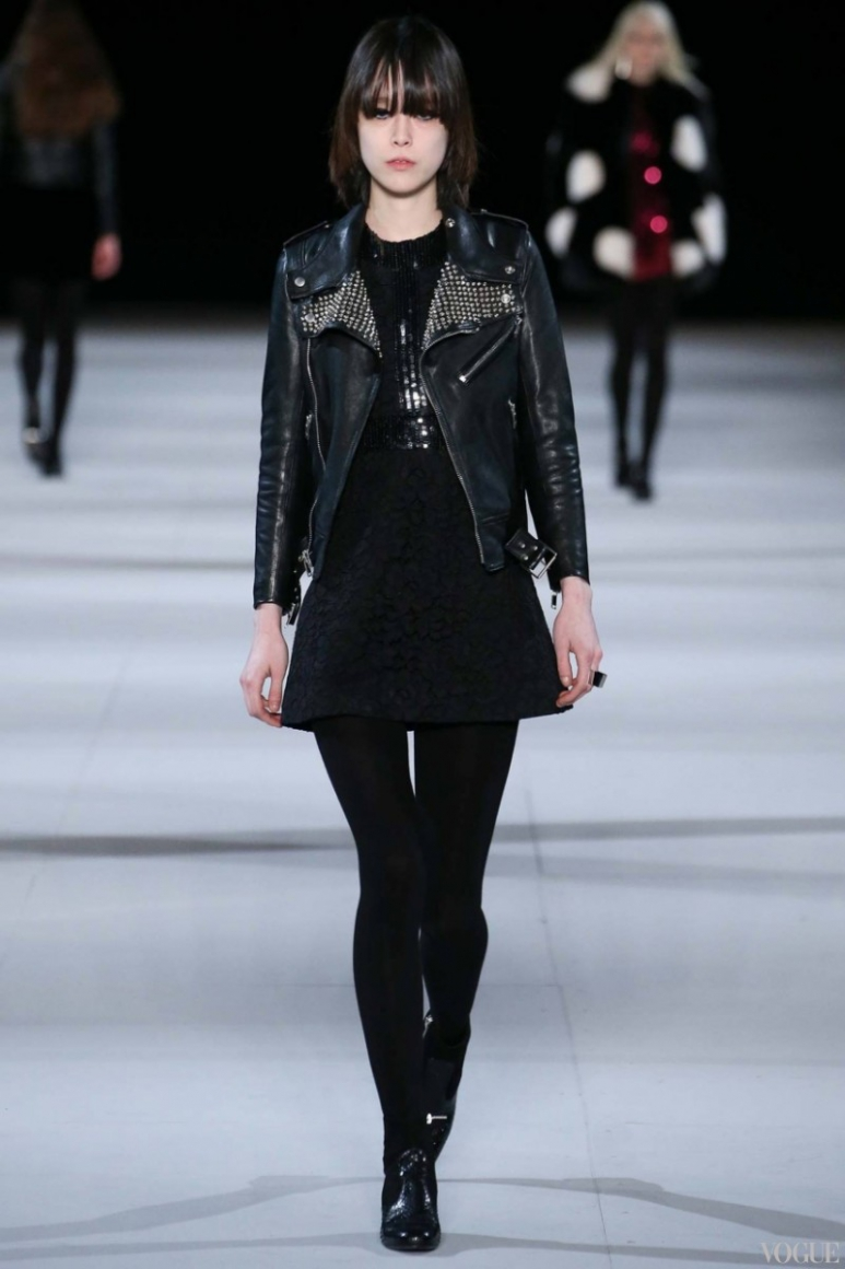 Saint Laurent осень-зима 2014/2015 #37
