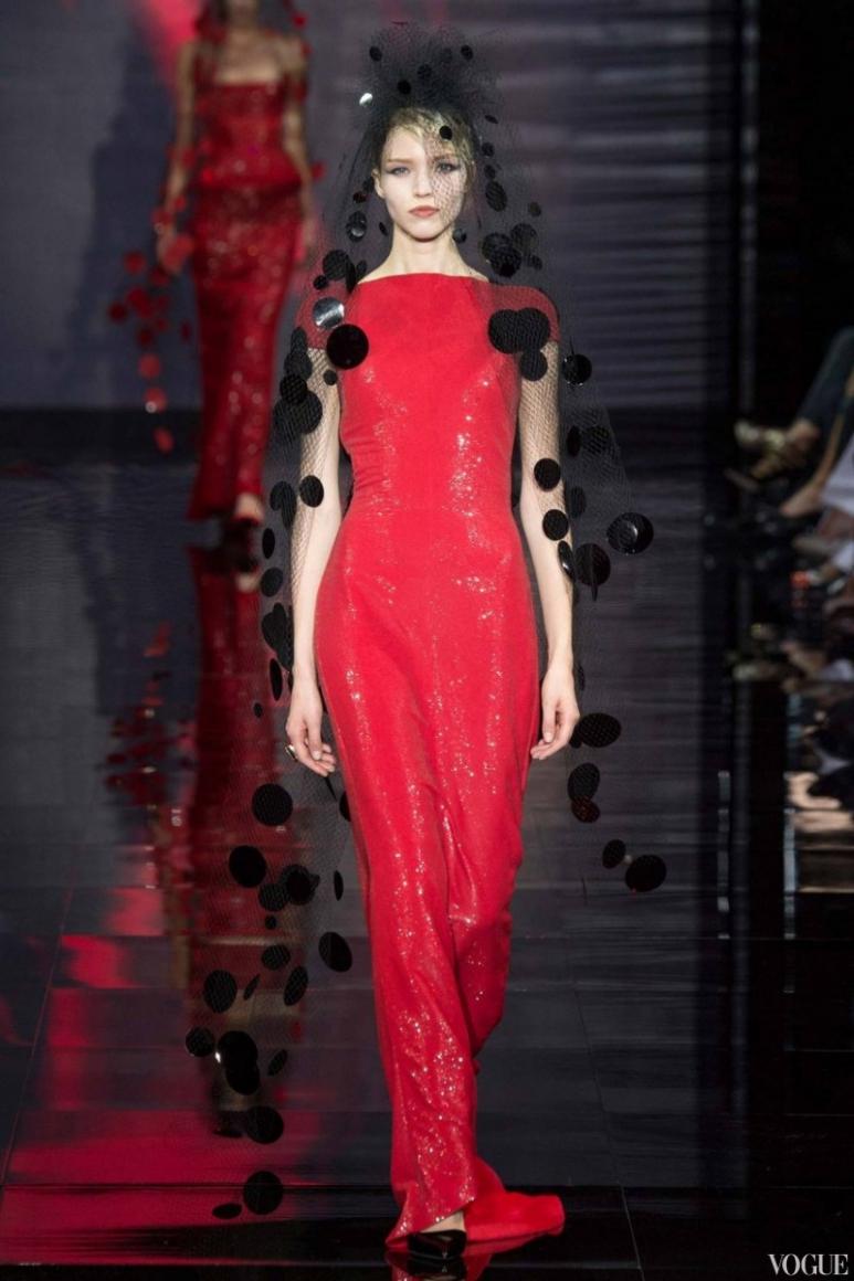 Armani Priv? Couture осень-зима 2014/2015 #55
