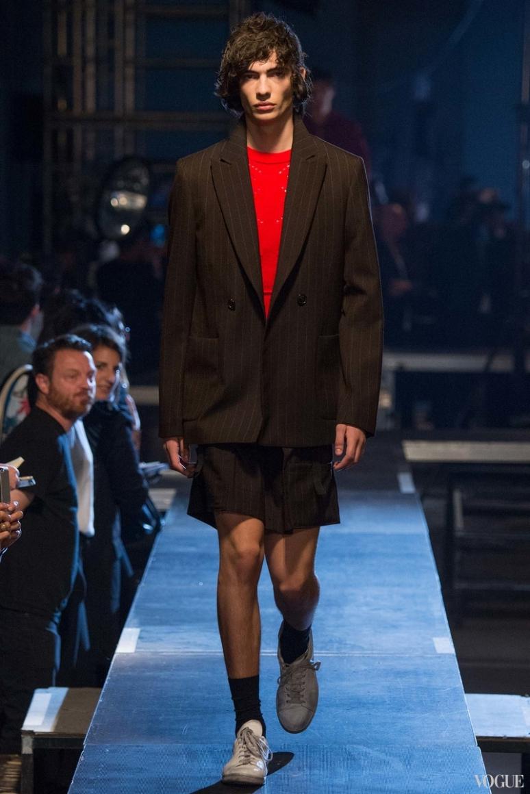 Raf Simons Menswear весна-лето 2016 #18