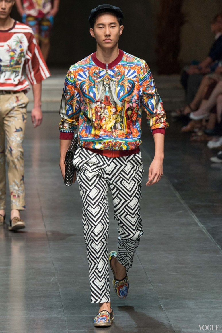 Dolce & Gabbana Menswear весна-лето 2016 #10