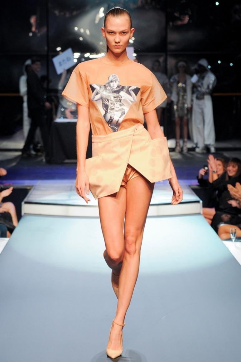 Jean Paul Gaultier весна-лето 2014 #38