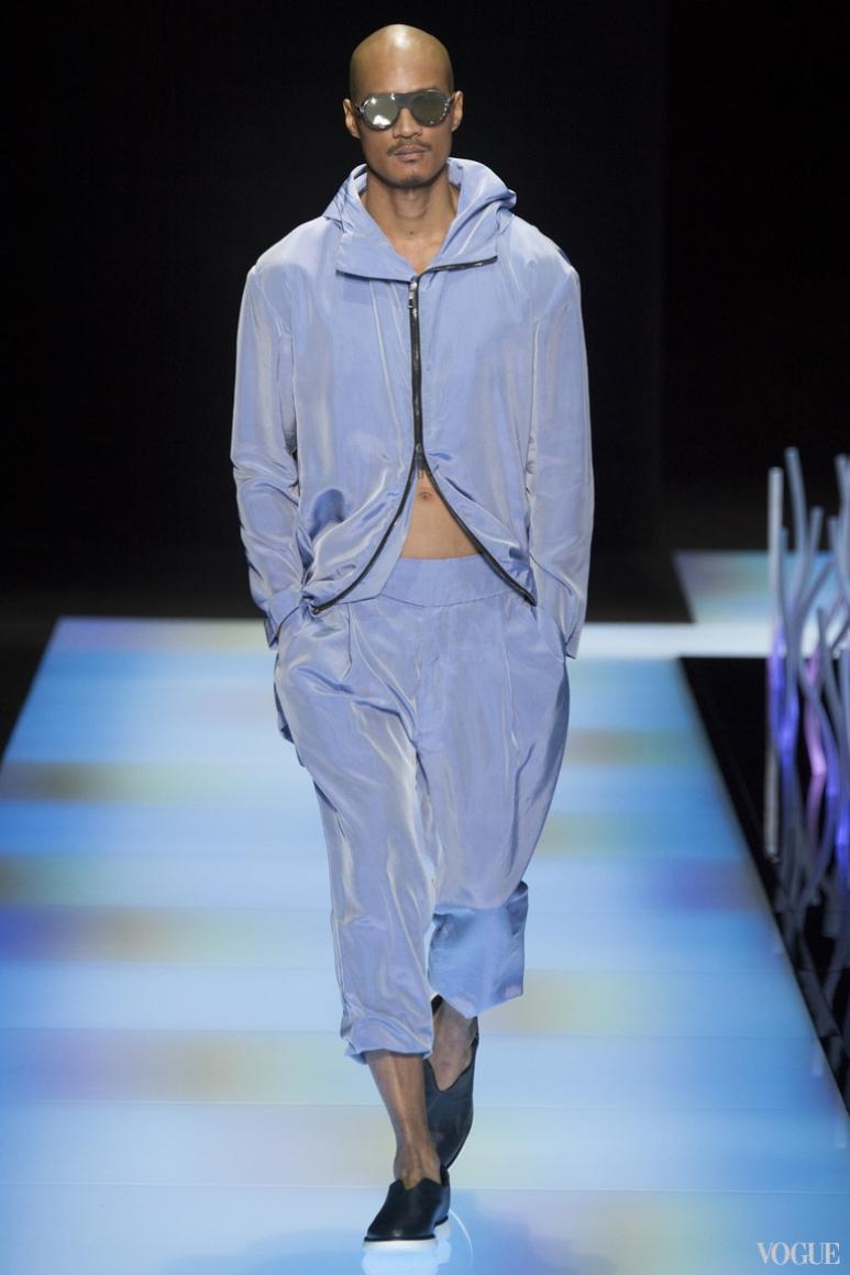 Giorgio Armani Menswear весна-лето 2016 #3