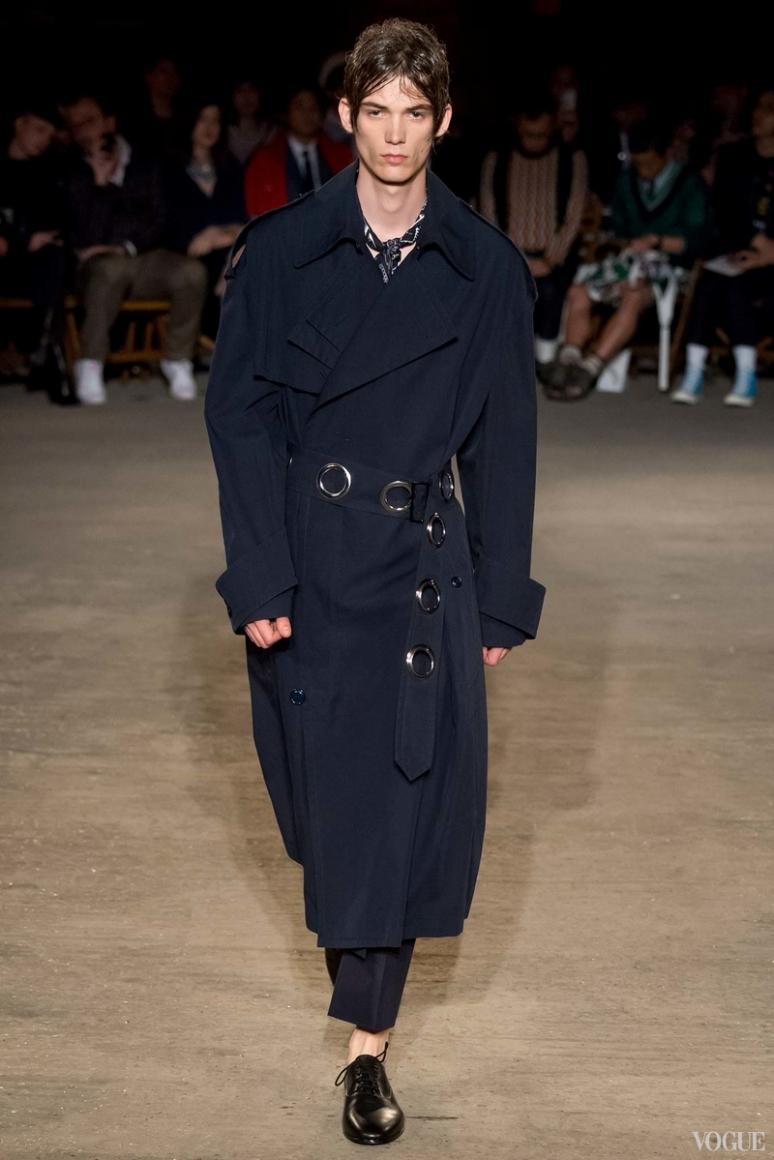 Alexander McQueen Menswear весна-лето 2016 #20