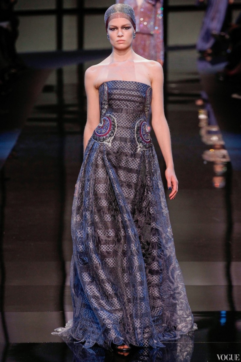 Armani Priv? Couture весна-лето 2014 #37