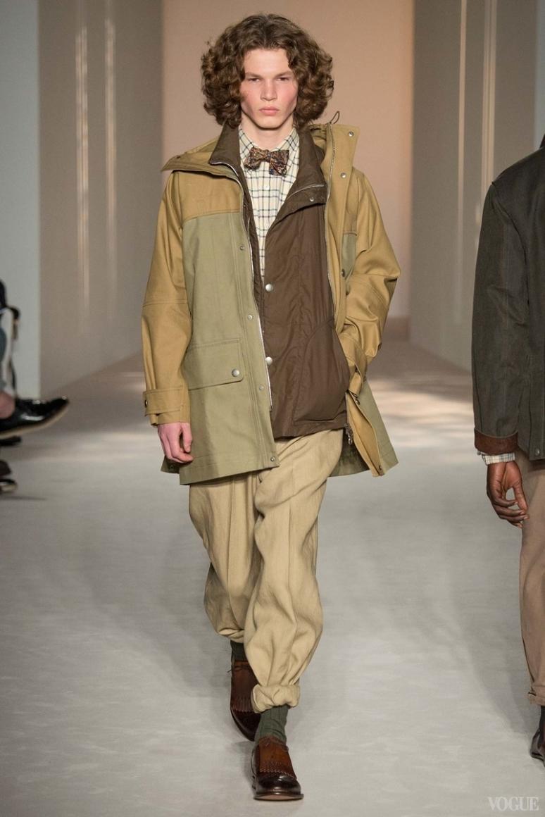 Dunhill Menswear весна-лето 2016 #16