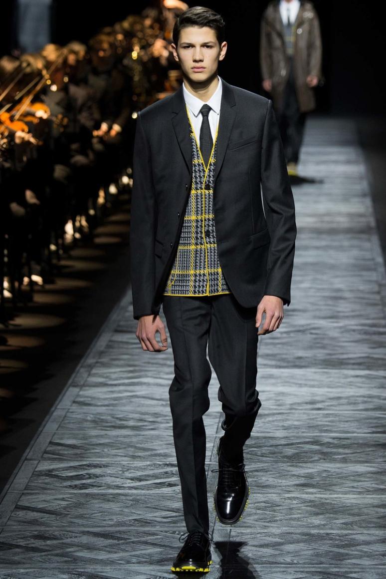 Dior Homme Menswear осень-зима 2015/2016 #17