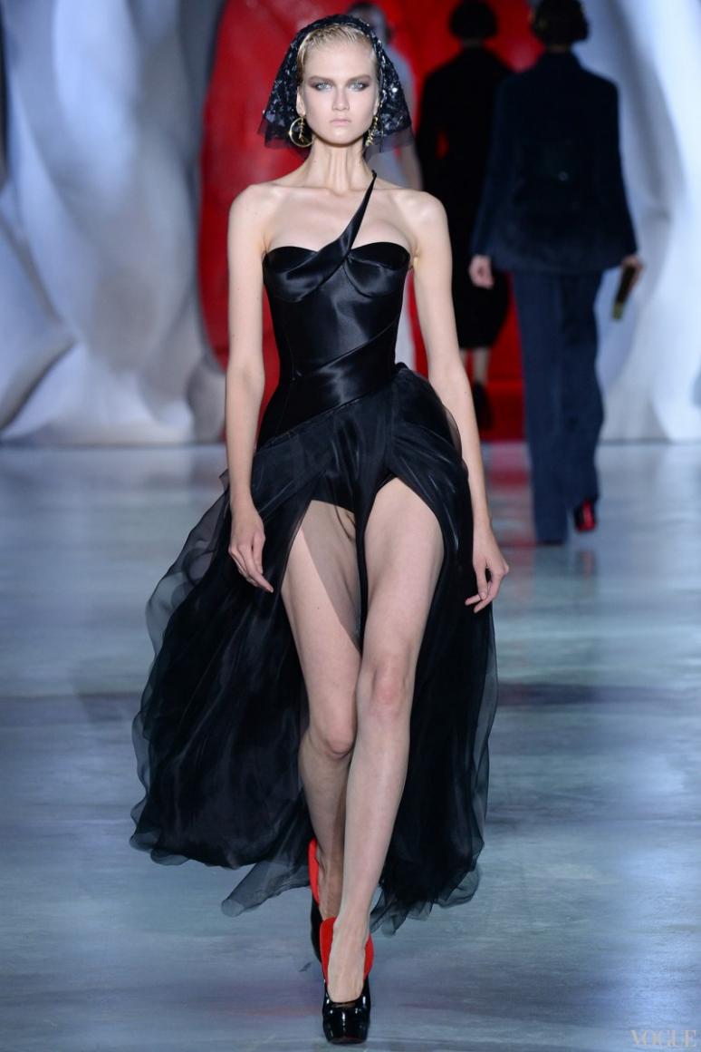 Ulyana Sergeenko Couture осень-зима 2014/2015 #1