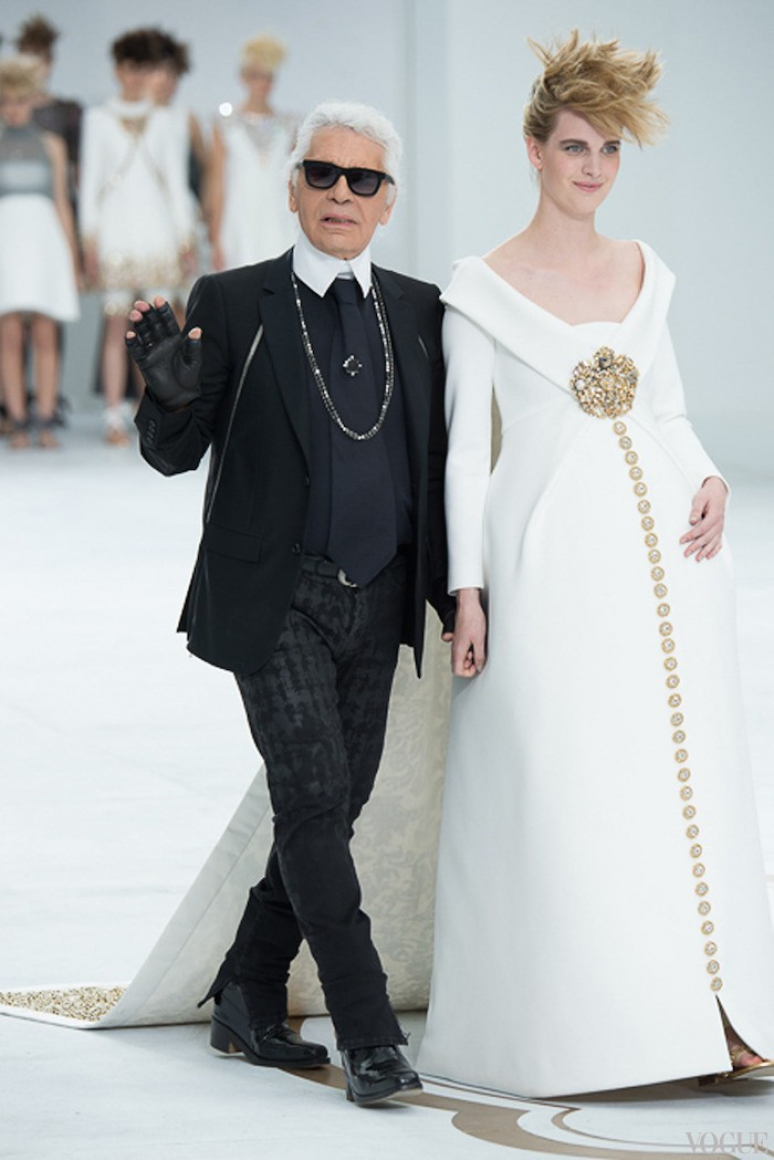 Chanel Couture осень-зима 2014/2015 #1