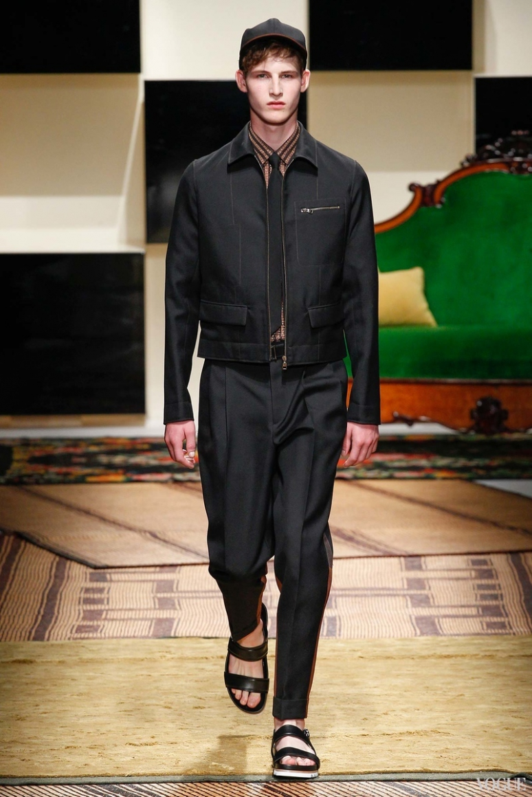 Salvatore Ferragamo Menswear весна-лето 2016 #21