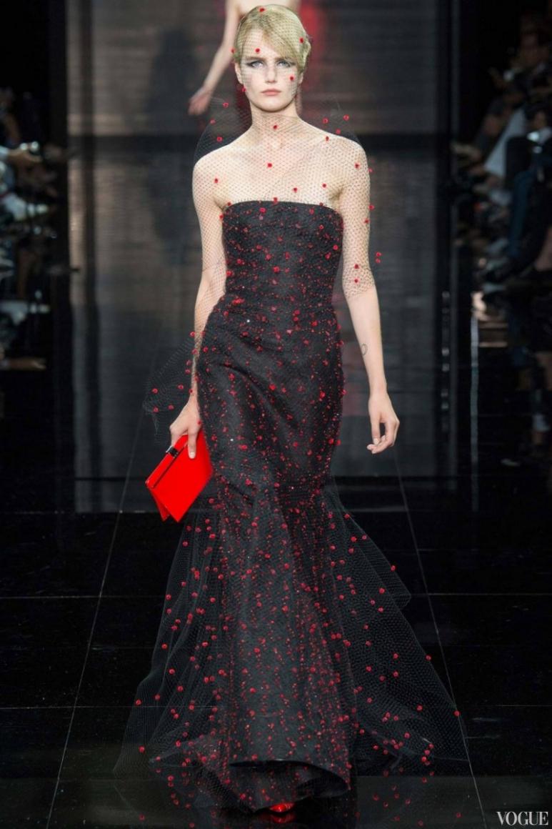 Armani Priv? Couture осень-зима 2014/2015 #13