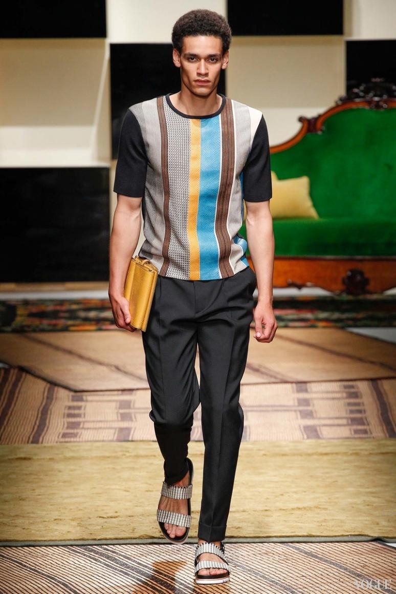 Salvatore Ferragamo Menswear весна-лето 2016 #28