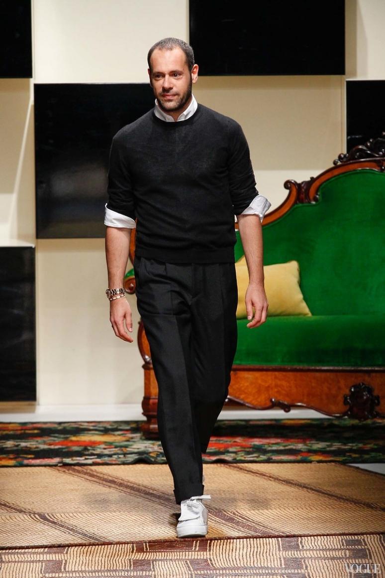 Salvatore Ferragamo Menswear весна-лето 2016 #1