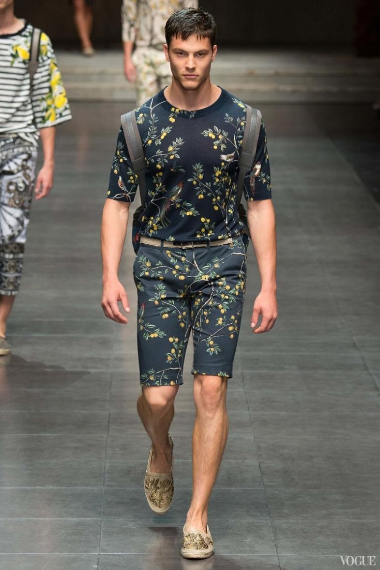 Dolce & Gabbana Menswear весна-лето 2016 #30