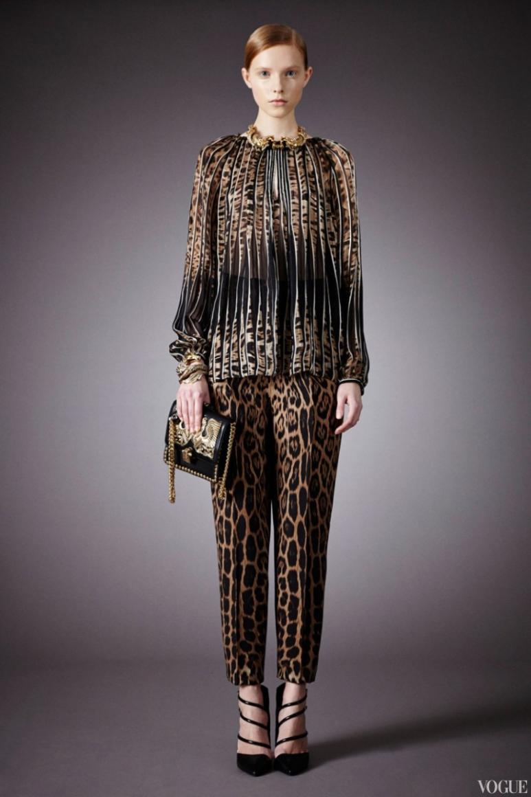 Roberto Cavalli Couture весна-лето 2013 #20