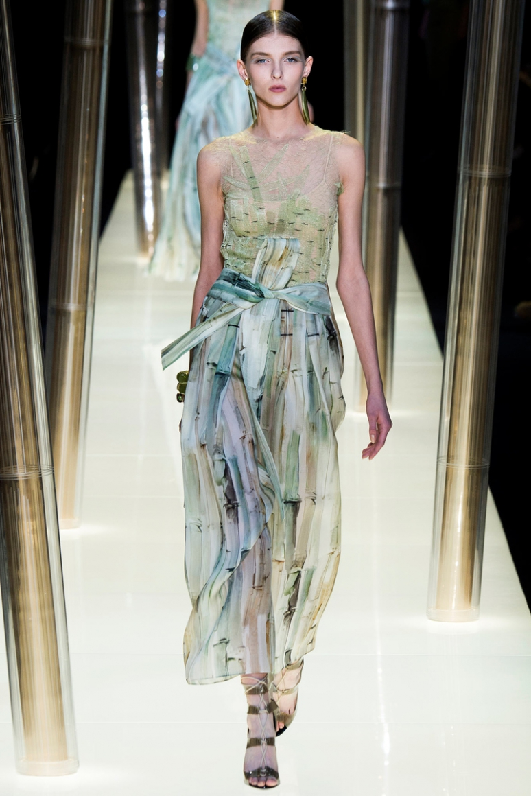 Armani Priv? Couture весна-лето 2015 #53