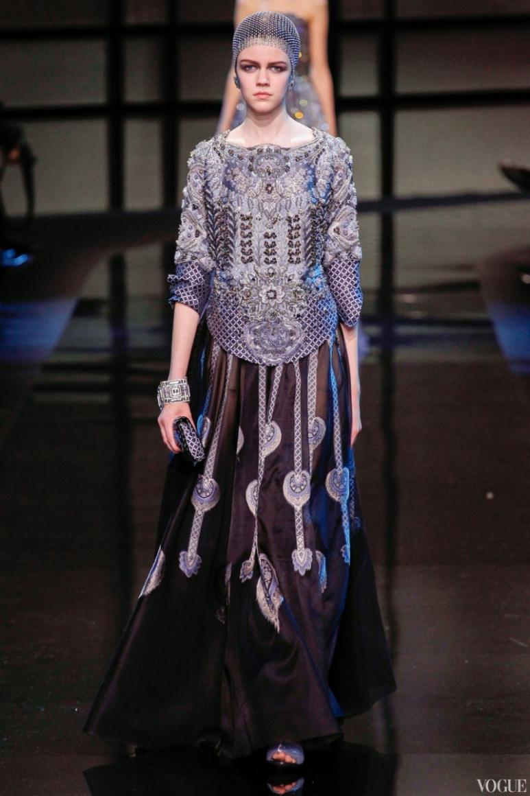 Armani Priv? Couture весна-лето 2014 #12