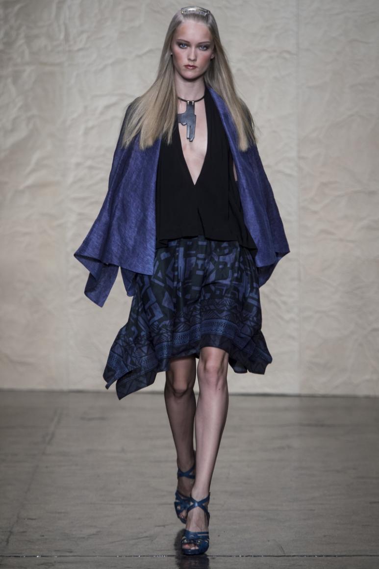 Donna Karan весна-лето 2014 #34