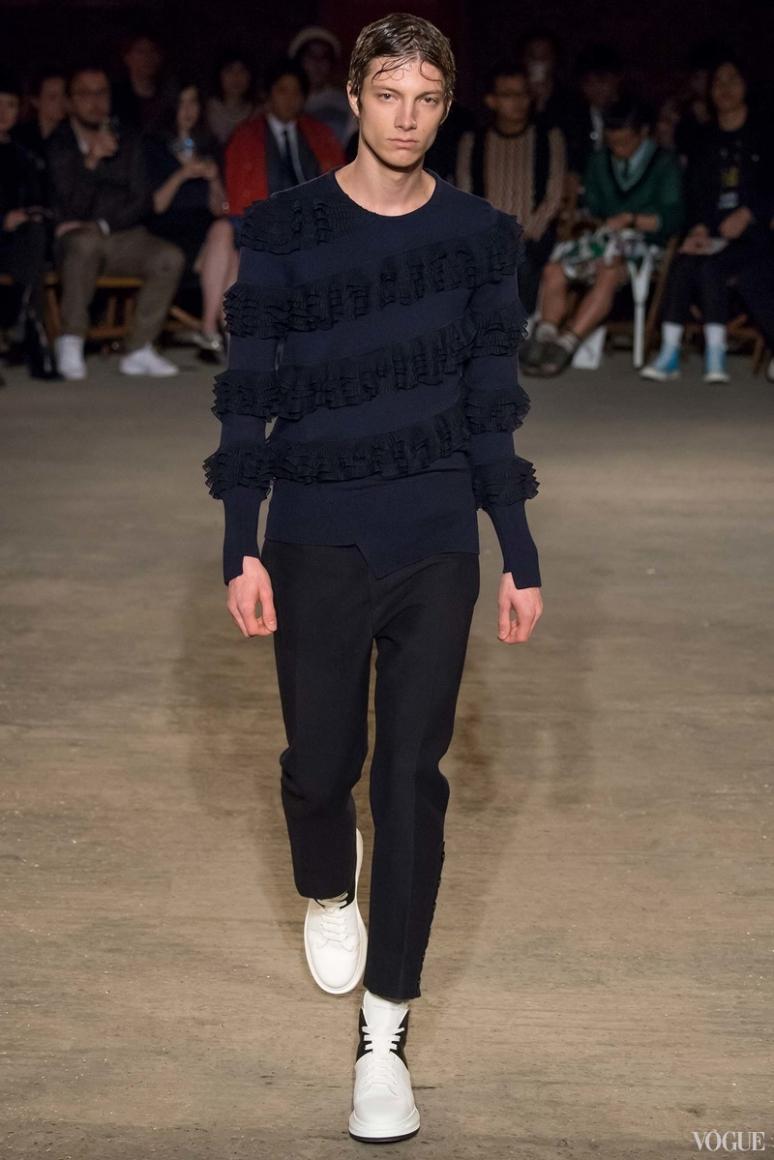 Alexander McQueen Menswear весна-лето 2016 #25