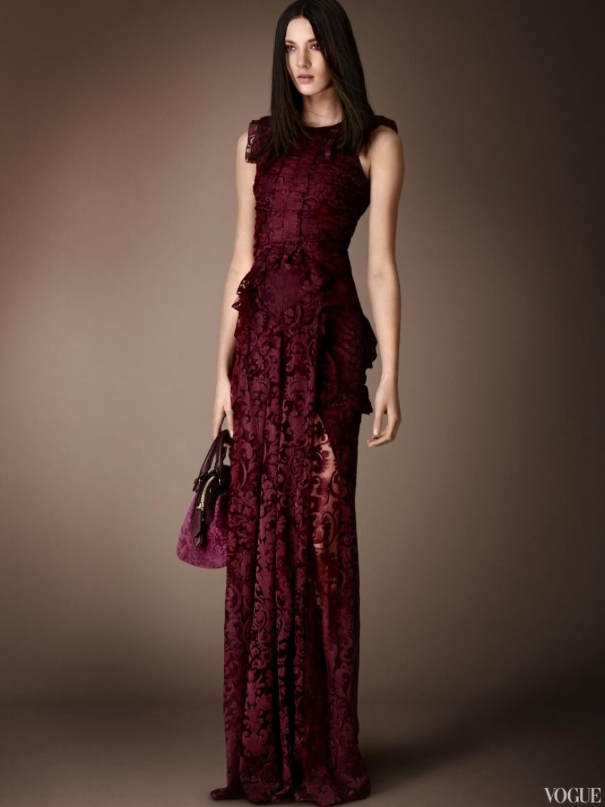 Burberry Prorsum Couture весна-лето 2013 #7