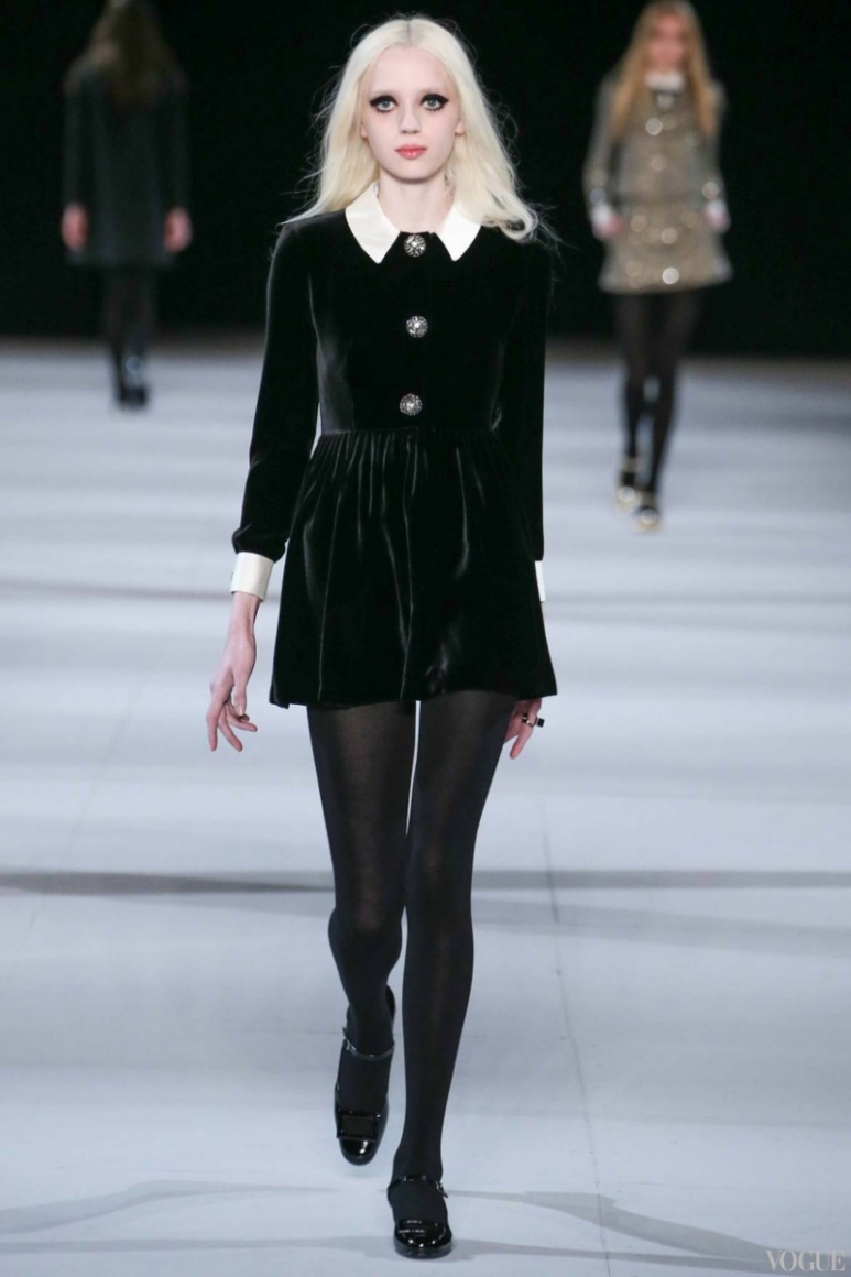 Saint Laurent осень-зима 2014/2015 #51