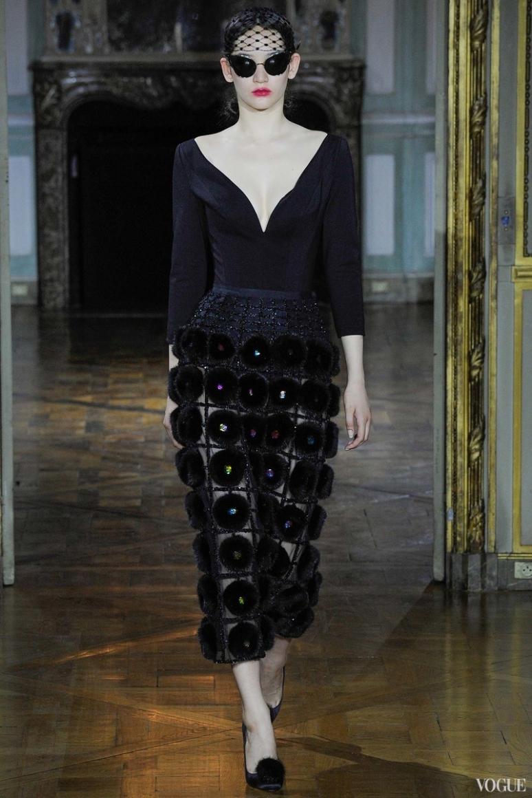 Ulyana Sergeenko Couture осень-зима 2015/2016 #39