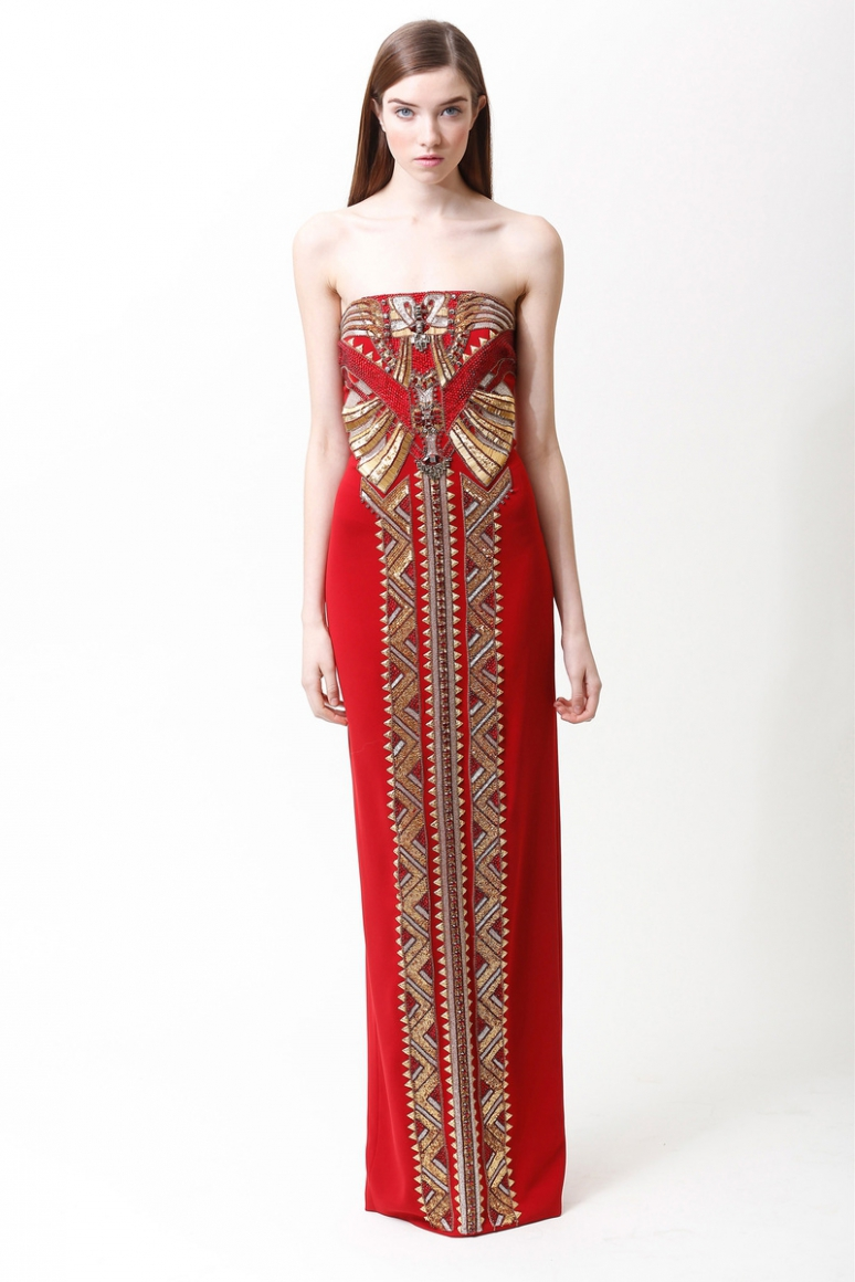 Badgley Mischka Pre-Fall 2013 #19
