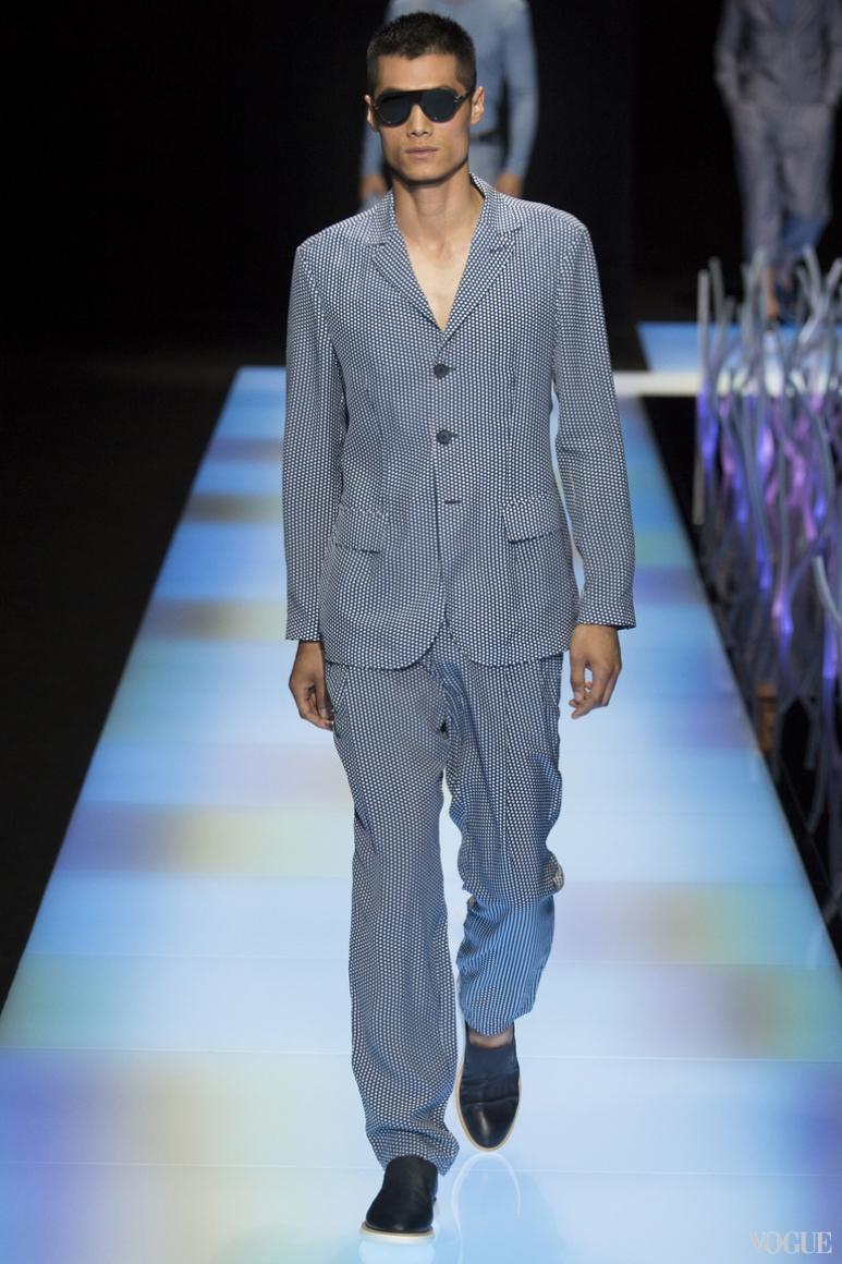 Giorgio Armani Menswear весна-лето 2016 #9