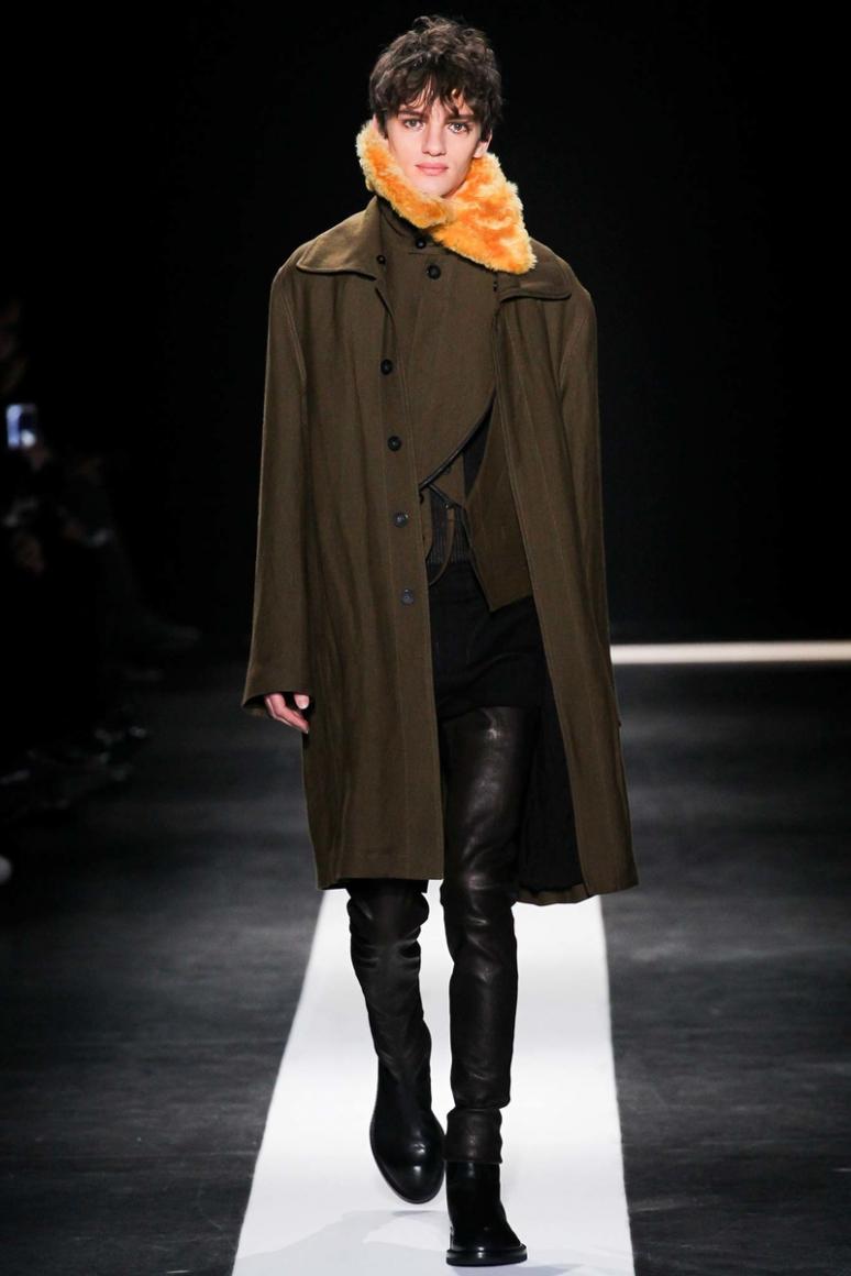 Ann Demeulemeester Menswear осень-зима 2015/2016 #10