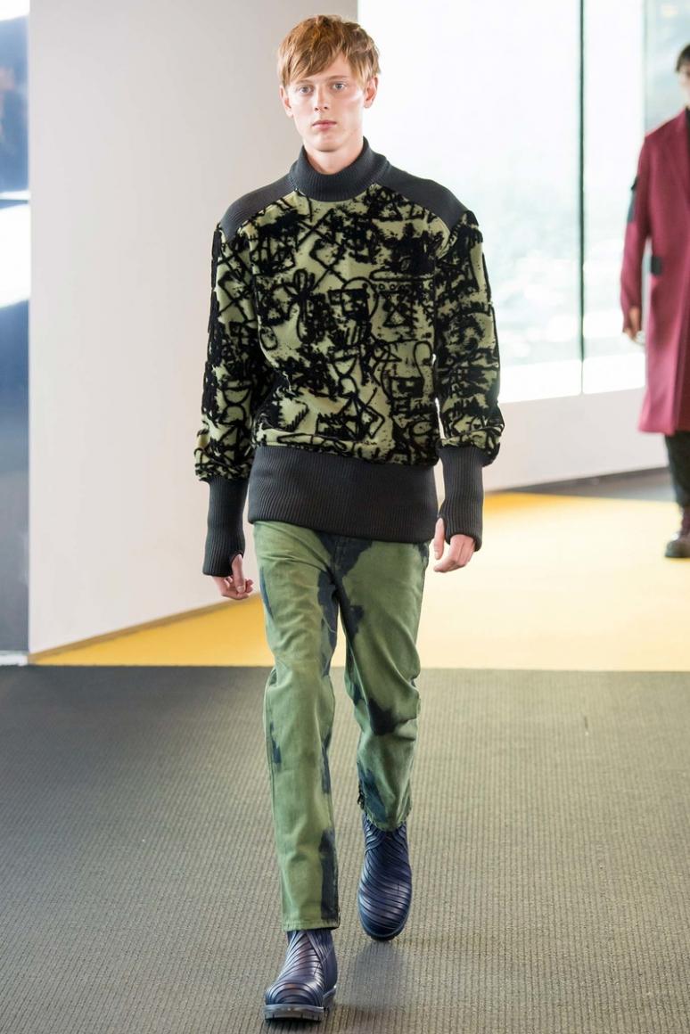 Kenzo Menswear осень-зима 2015/2016 #26