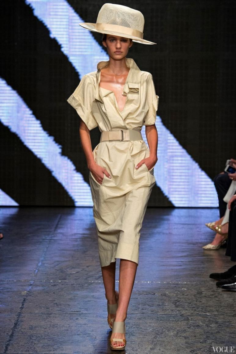 Donna Karan весна-лето 2015 #14