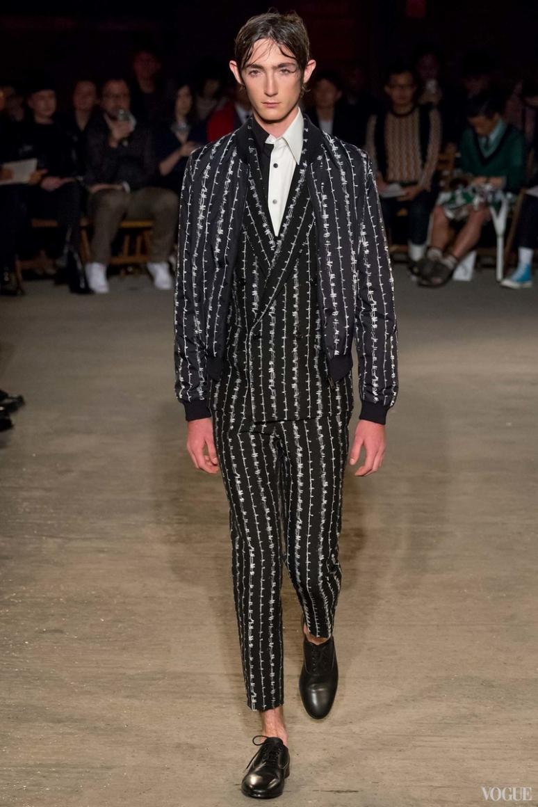 Alexander McQueen Menswear весна-лето 2016 #13