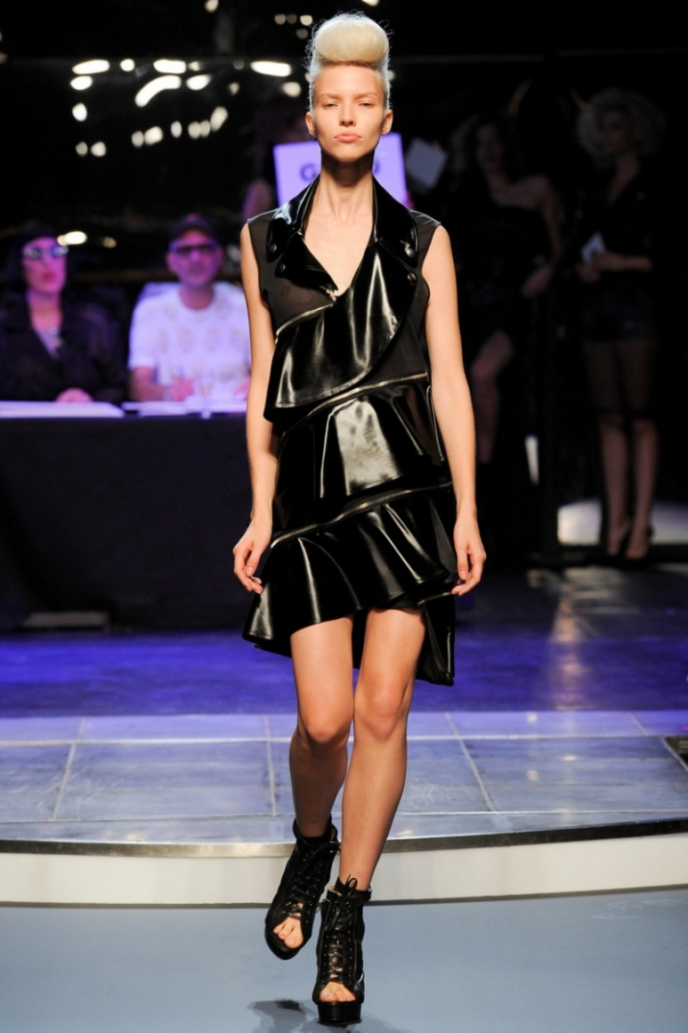 Jean Paul Gaultier весна-лето 2014 #53