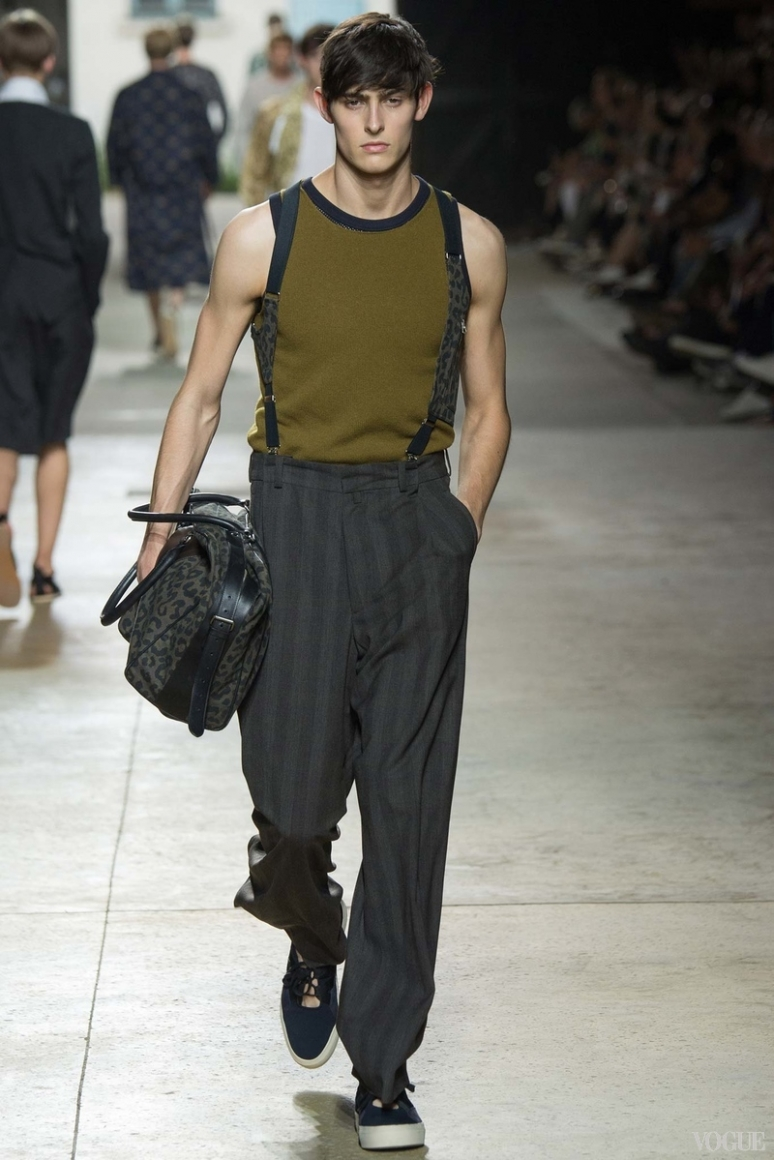 Dries van Noten Menswear весна-лето 2016 #16