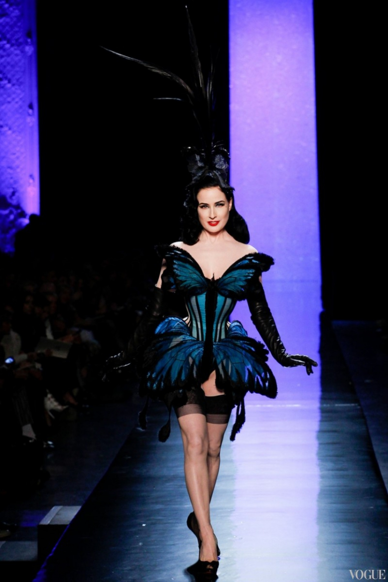 Jean Paul Gaultier Couture весна-лето 2014 #7