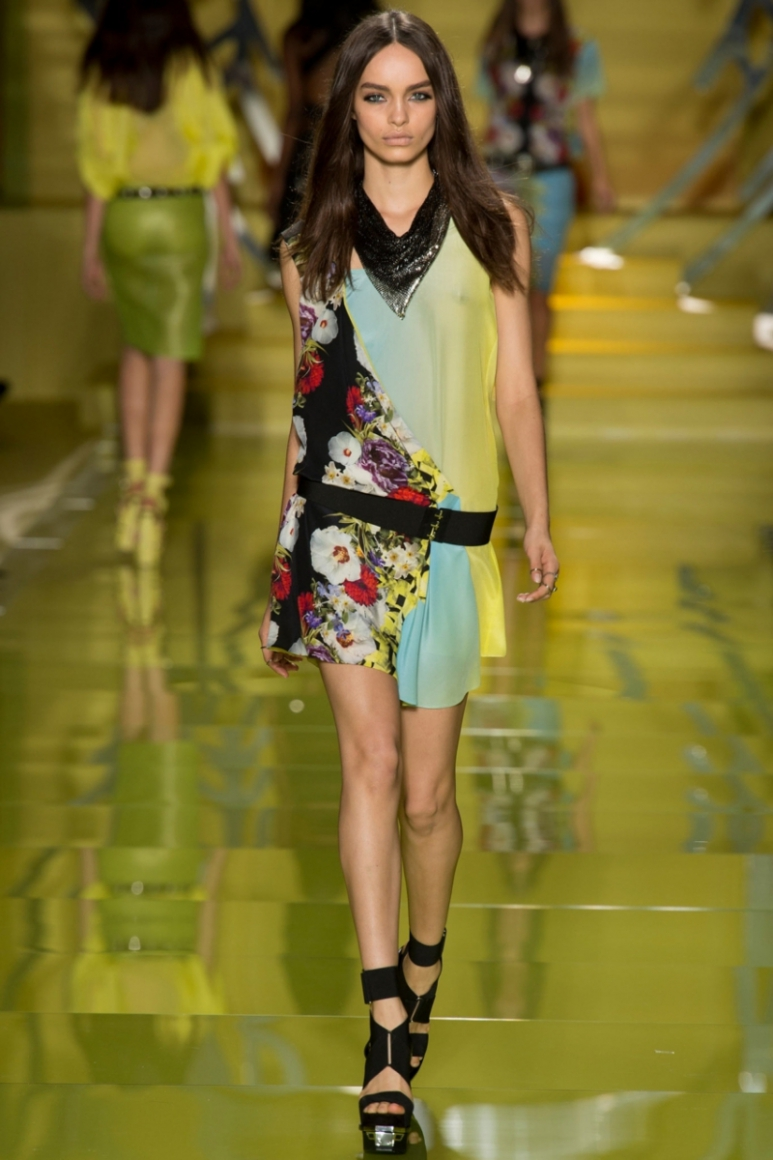 Versace весна-лето 2014 #23