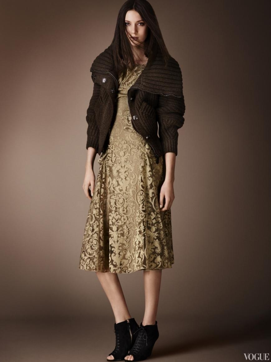 Burberry Prorsum Couture весна-лето 2013 #10