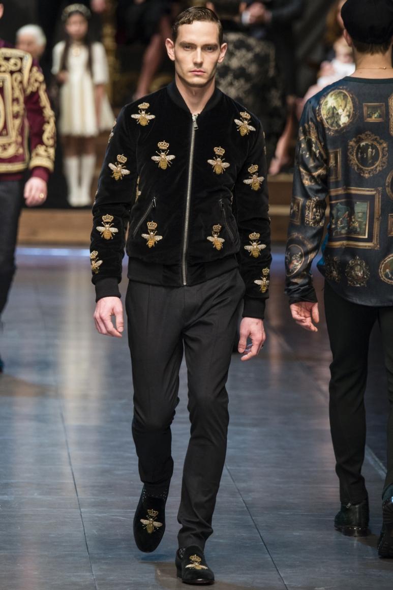Dolce & Gabbana Menswear осень-зима 2015/2016 #62