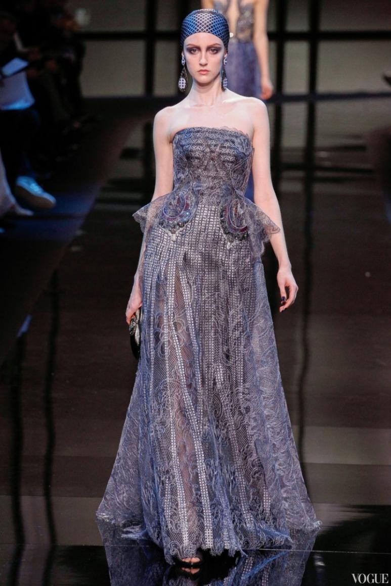 Armani Priv? Couture весна-лето 2014 #26