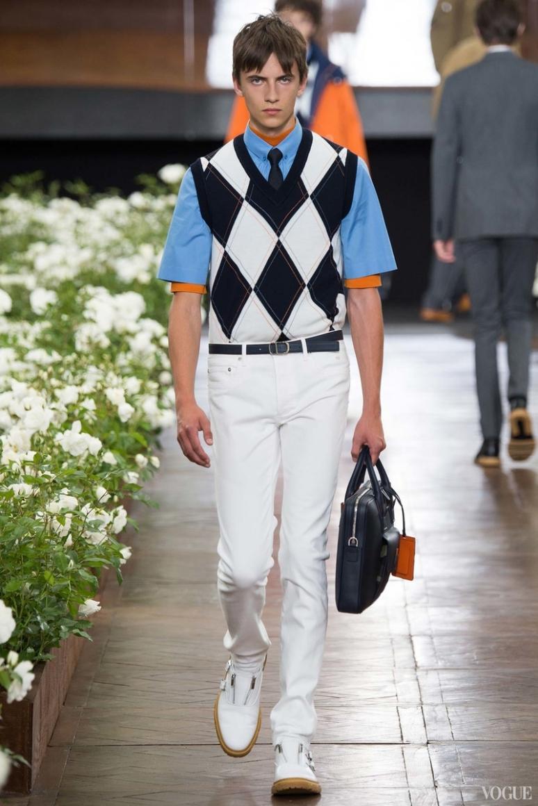 Dior Homme Menswear весна-лето 2016 #17