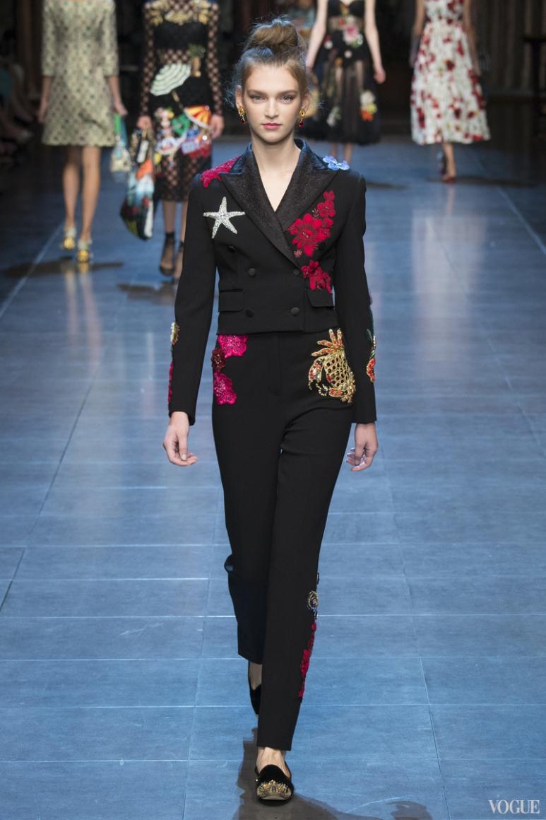 Dolce & Gabbana весна-лето 2016 #25