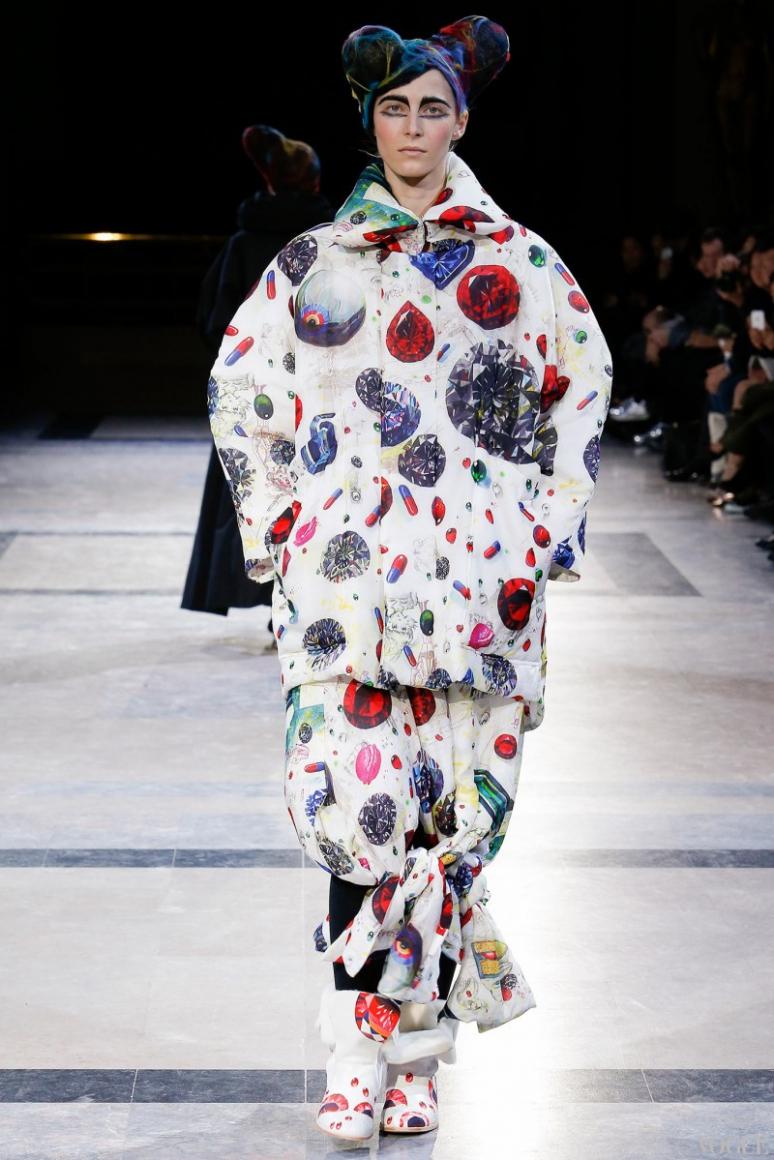 Yohji Yamamoto осень-зима 2014/2015 #22