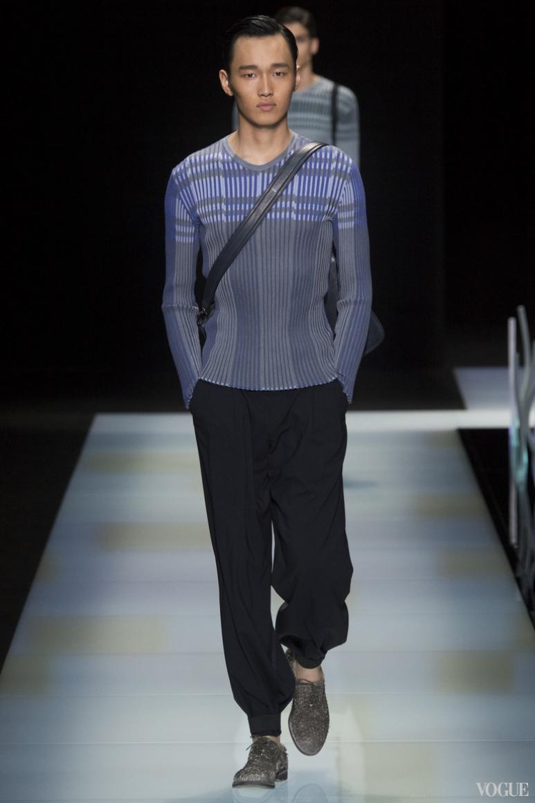 Giorgio Armani Menswear весна-лето 2016 #46